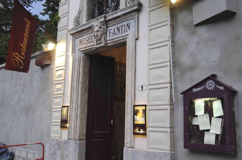 Dîner au restaurant Fantin Latour à Grenoble
