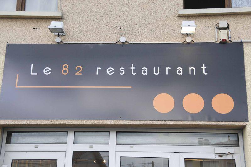 Restaurant le 82 à Bordeaux Caudéran
