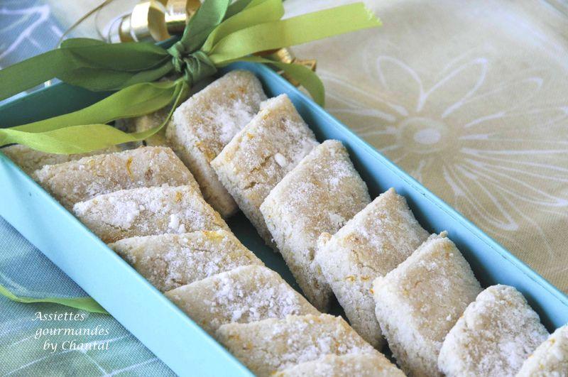 Ricciarellis ou macarons de Sienne