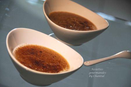 Crème brulée à la pâte de spéculoos