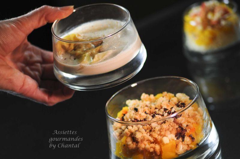 Ravioles potimarron cèpes, sauce au foie gras