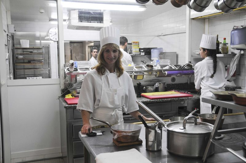 Christophe Aribert, côté cuisine