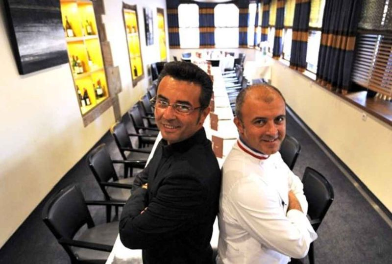 Déjeuner au Chambard à Kaysersberg, chez Olivier et Emmanuel Nasti