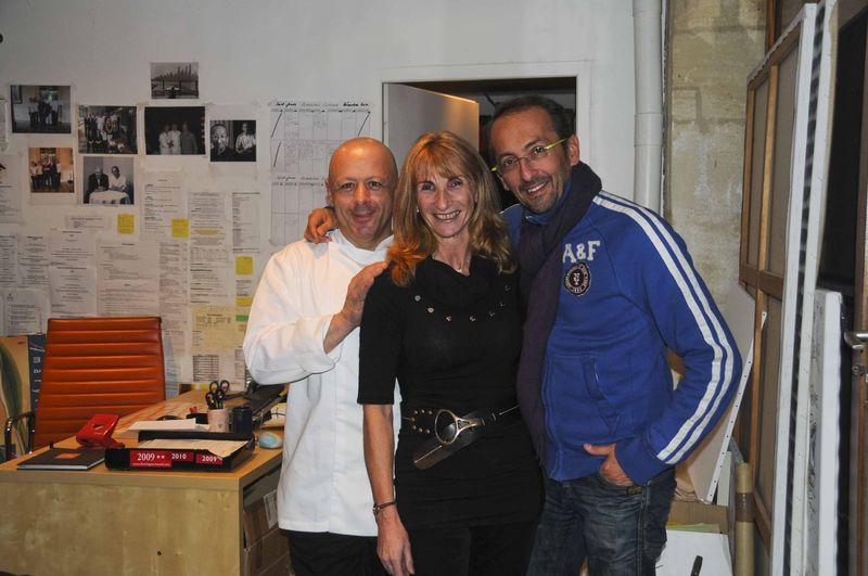 Dîner chez Michel Portos avec Thierry Marx (suite)