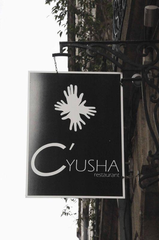 Déjeuner au C'Yusha à Bordeaux