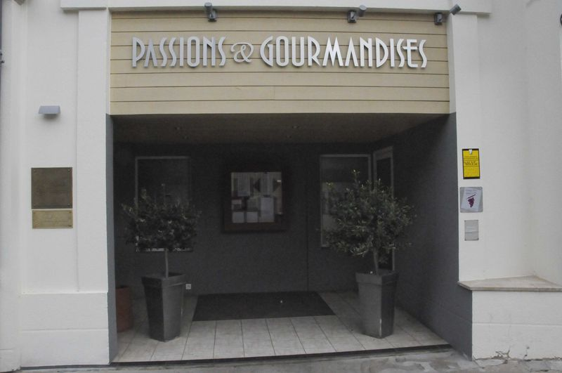 Déjeuner à Passions et Gourmandises chez Richard Toix (1* Michelin), à Saint-Benoit, près de Poitiers