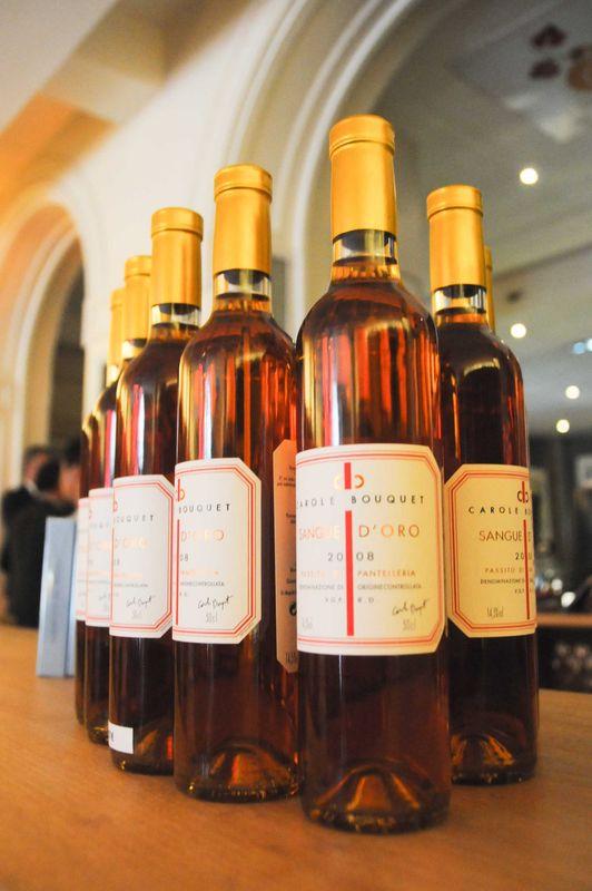 Le vin Sangue d'Oro, par Carole Bouquet