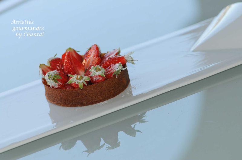 Tarte aux fraises... façon Michel Portos