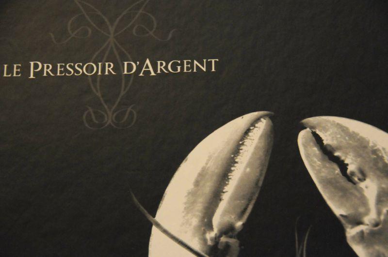 Dîner au Pressoir d'Argent à Bordeaux... avec l'ami Pierrot!