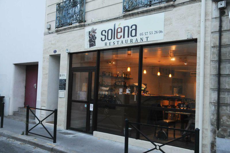 Diner au Soléna à Bordeaux