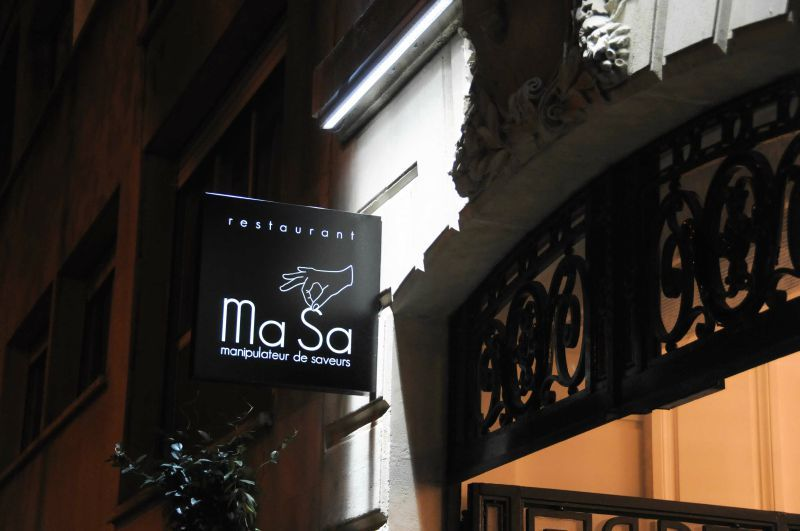 Dîner à Masa, restaurant à Paris