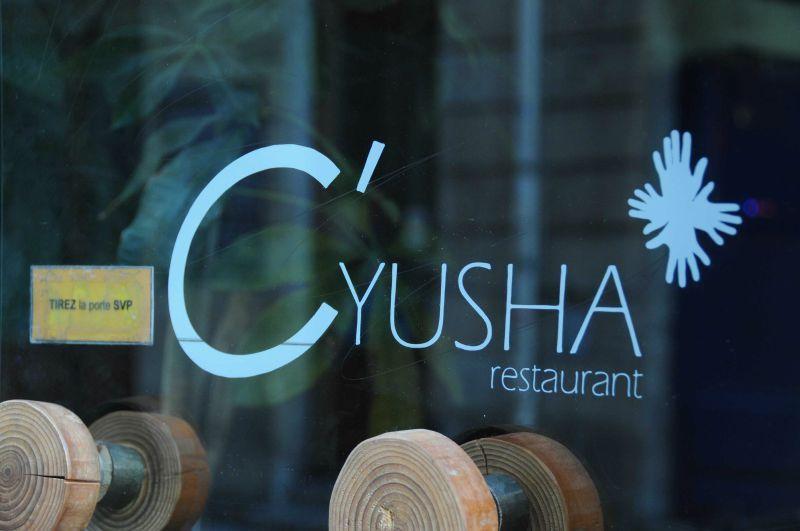 Nouveau déjeuner au C'Yusha à Bordeaux