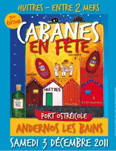 Cabanes en fête à Andernos, c'est samedi prochain!