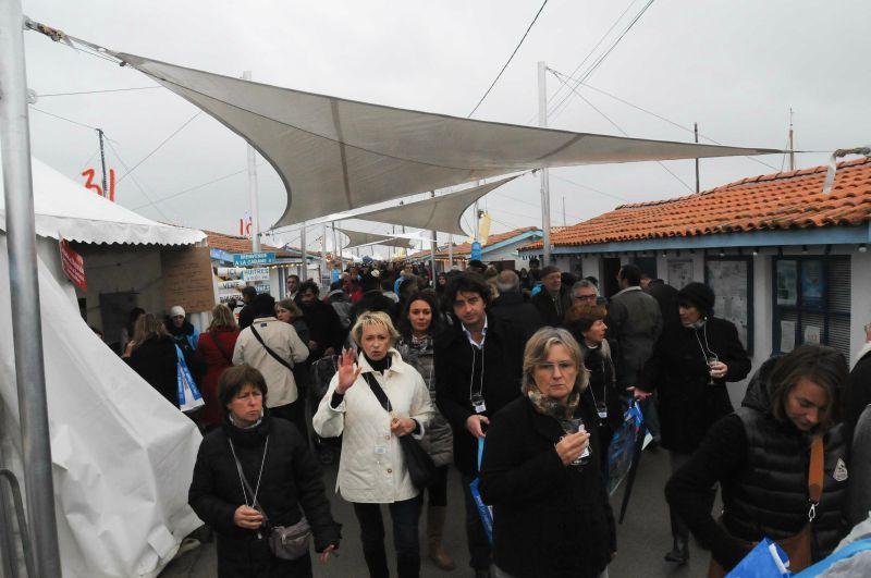 Cabanes en fête à Andernos: j'adore!