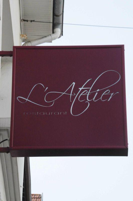 Déjeuner au restaurant l'Atelier, à Biarritz
