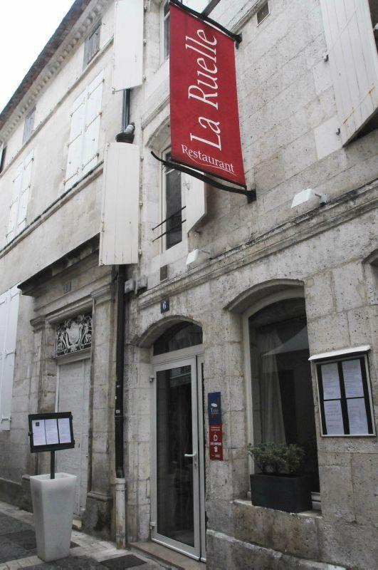 Déjeuner au restaurant La Ruelle à Angoulême