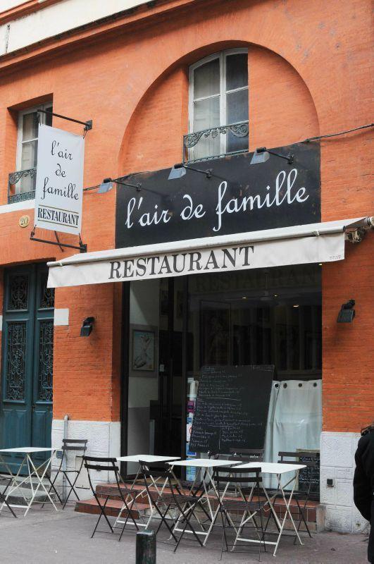 """Déjeuner au restaurant """"L'air de famille"""" à Toulouse"""