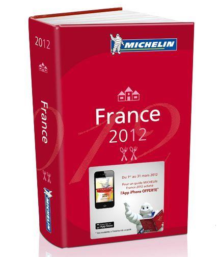 Les étoilés Michelin 2012; la liste officielle