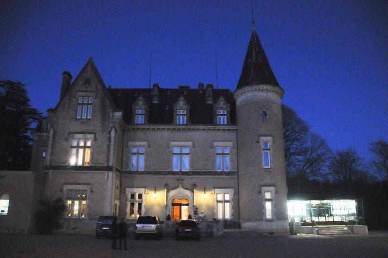 Dîner au Château des Reynats