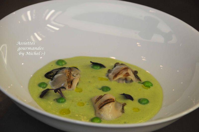 Déclinaison d'huîtres: une recette selon Michel Portos