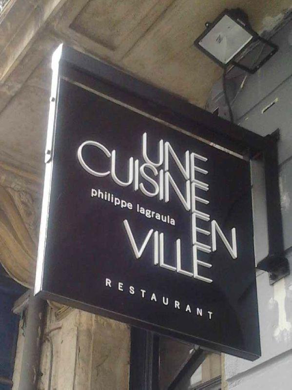 Une Cuisine en Ville: un nouveau restaurant à Bordeaux