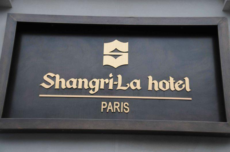 Shangri-La Paris: un diner exceptionnel!