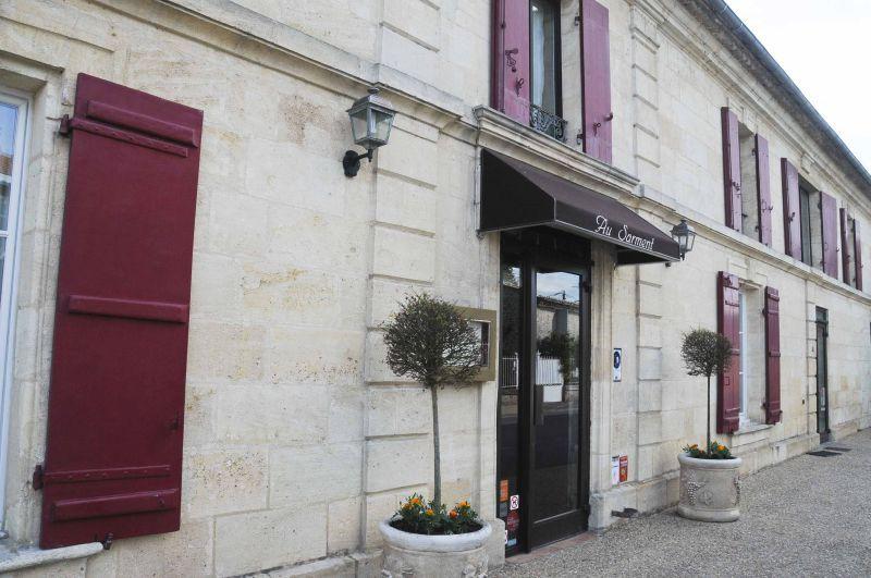 """Déjeuner au restaurant """"Au Sarment"""" à Saint-Gervais"""
