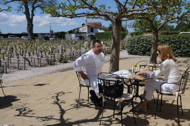 Déjeuner à Cordeillan Bages, chez Jean-Luc Rocha