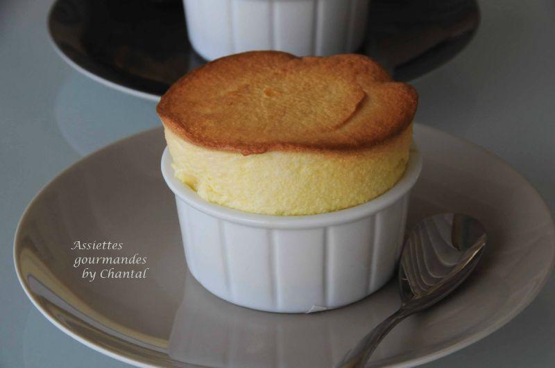 Soufflé orange, fruits de la passion