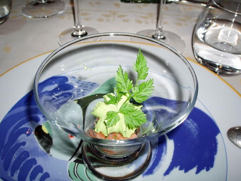 J'ai testé un restaurant étoilé et spécialisé dans le poisson à Paris: le Goumard