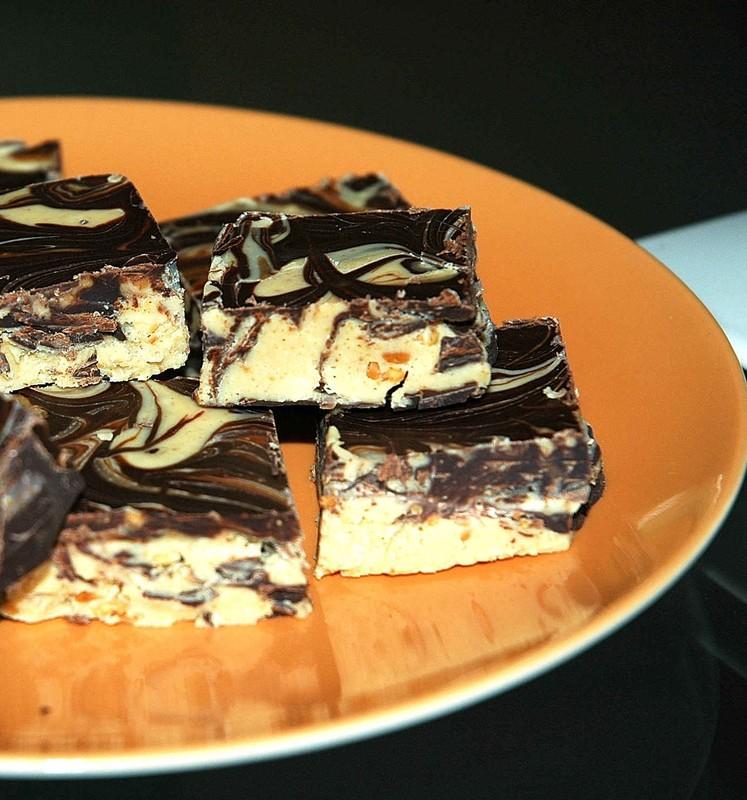 Douceurs marbrées au chocolat