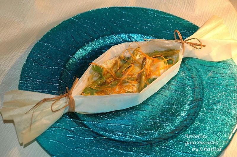 Papillotes...ou un peu de light dans l'assiette!