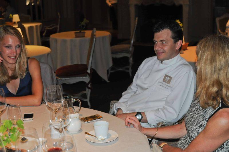 Nouveau dîner exceptionnel chez Nicolas Masse, aux Sources de Caudalie