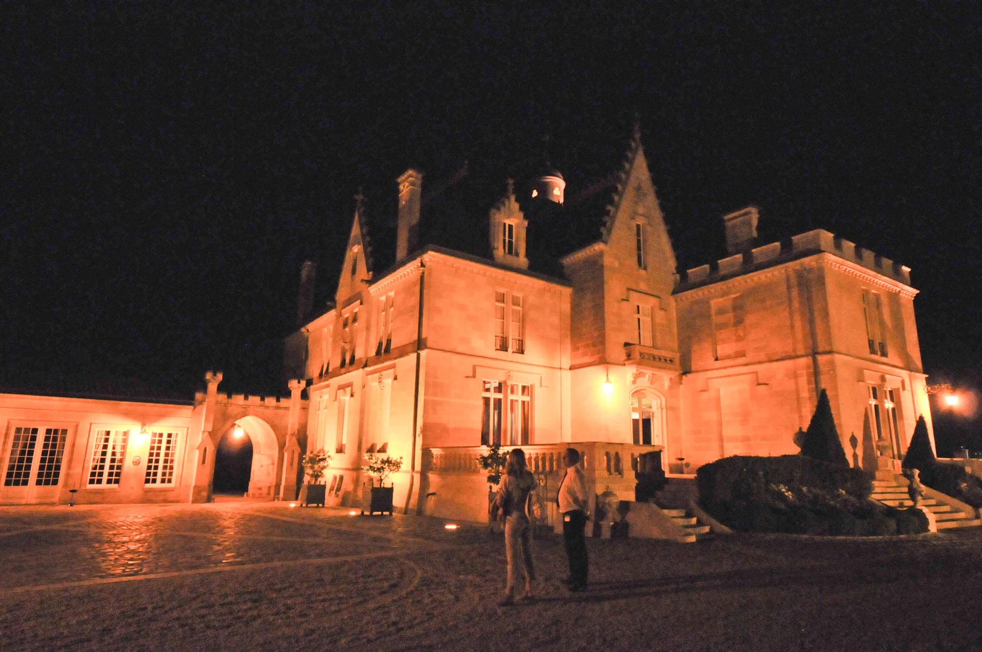Passer une nuit au Château Pape Clément