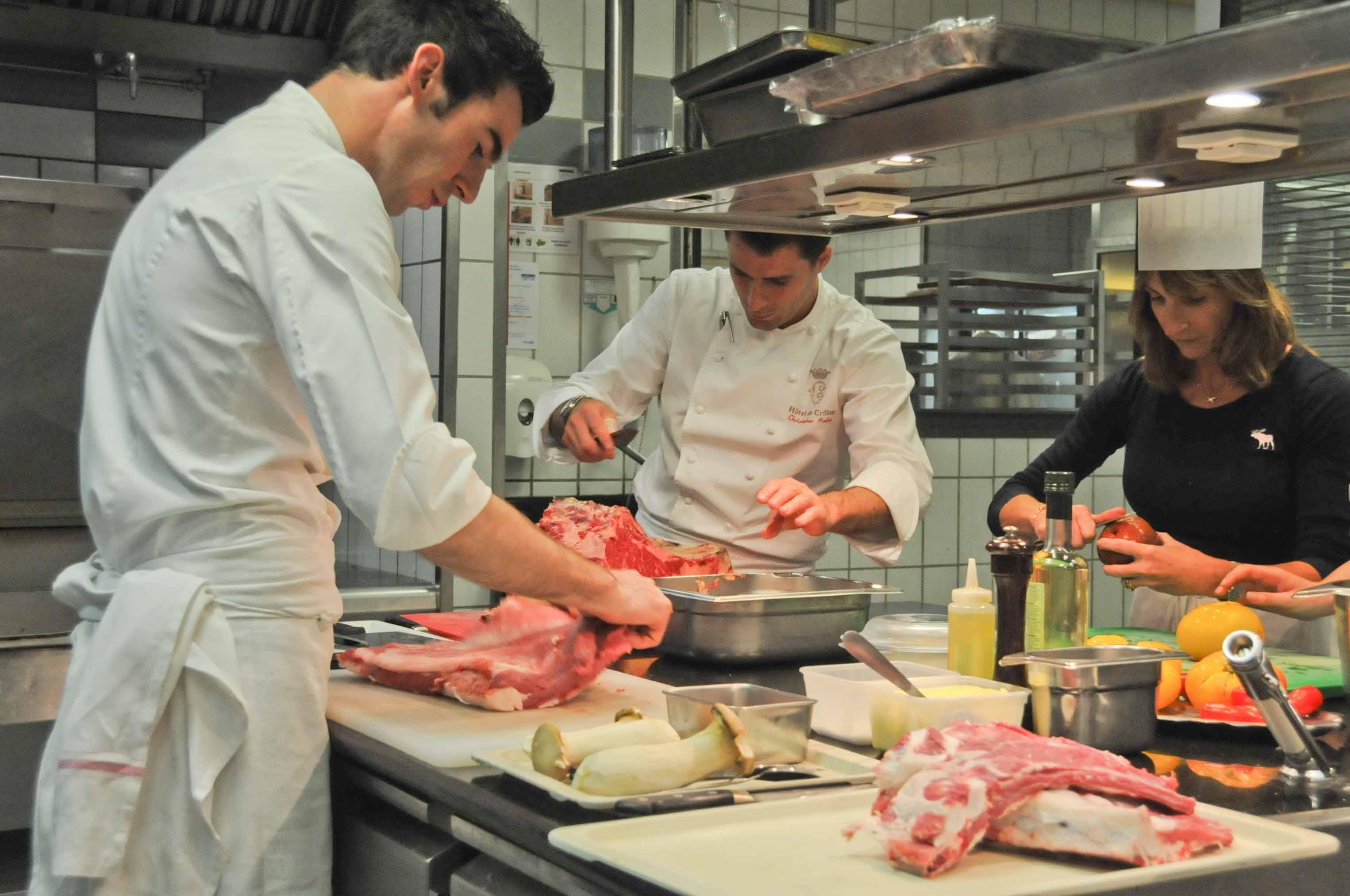 La préparation du barbecue Grilled & Chic au Crillon... avec Assiettes Gourmandes!