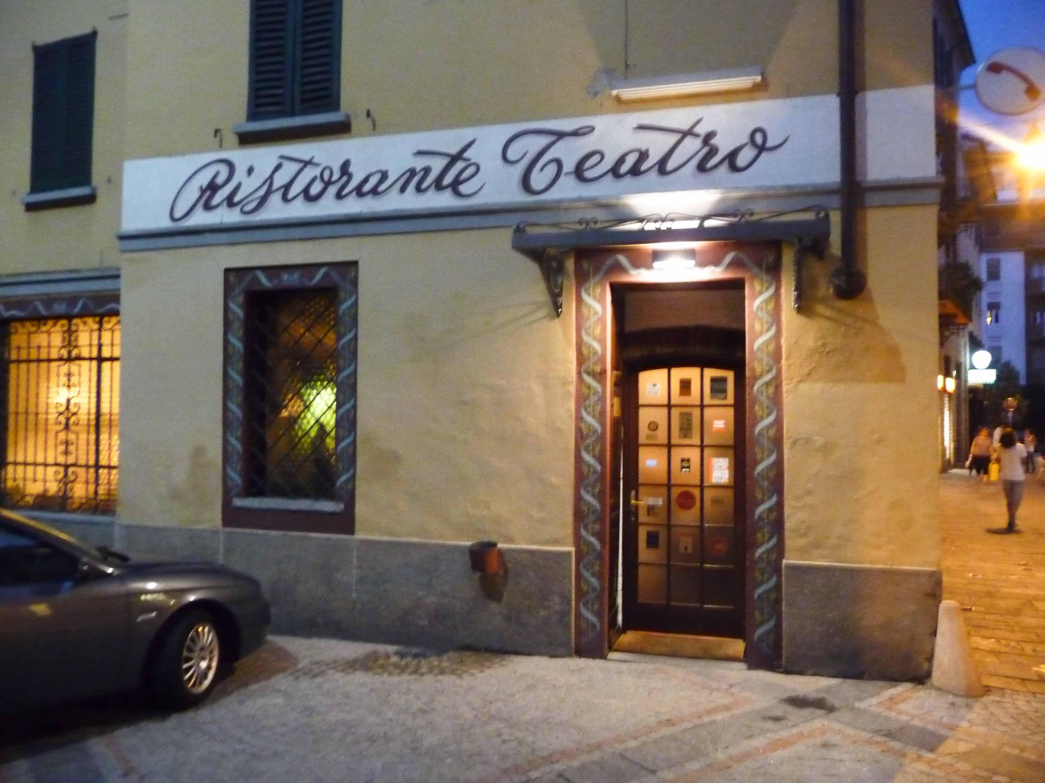 Ristorante Teatro, Varese, Italie