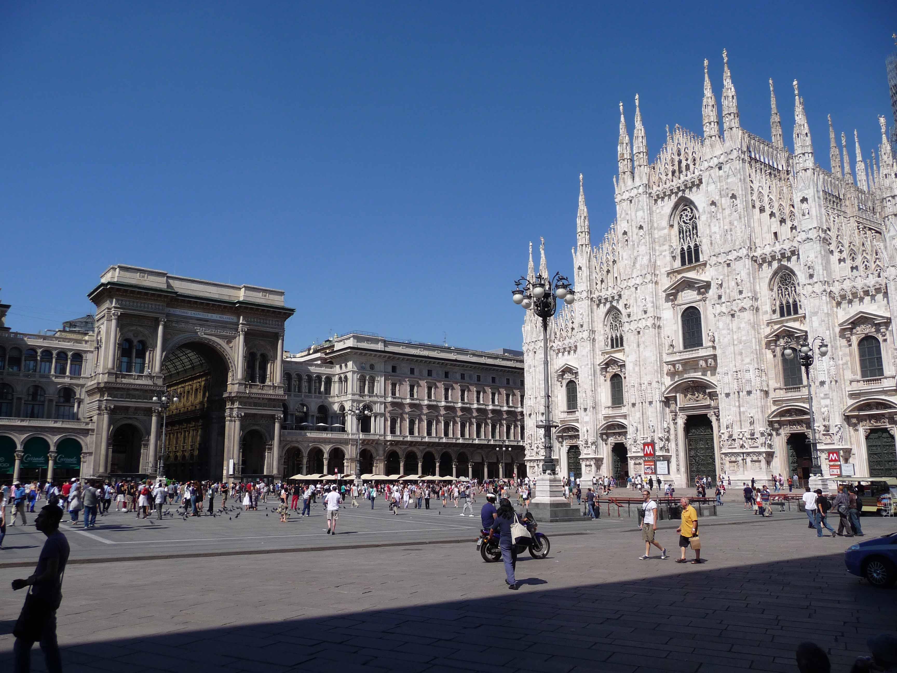 Escapade en Italie...