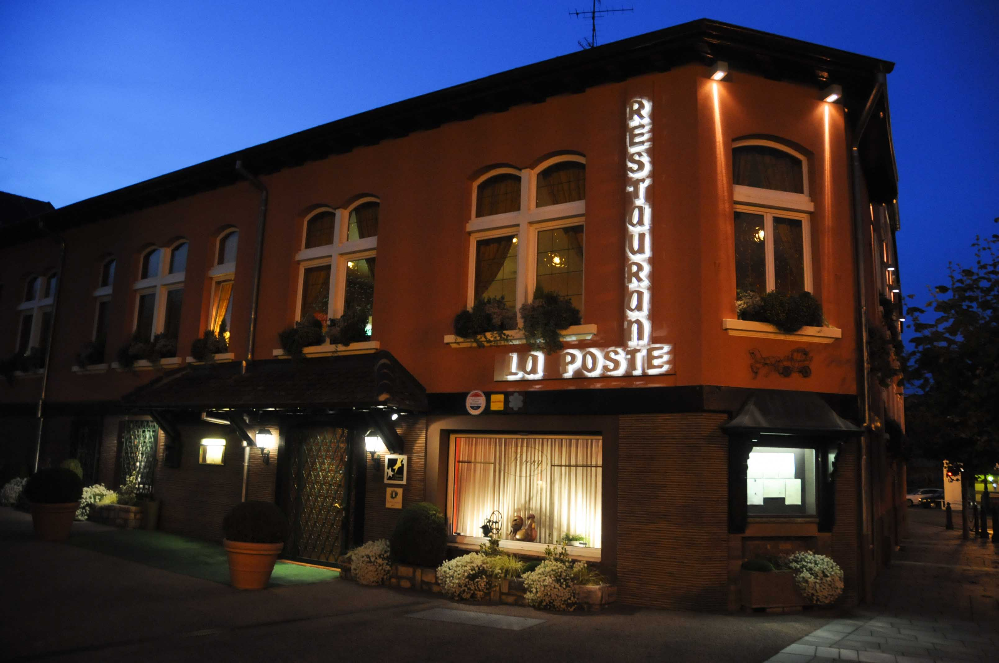 Dîner au restaurant La Poste à Riedisheim, chez Jean Marc Kieny (1 étoile Michelin)
