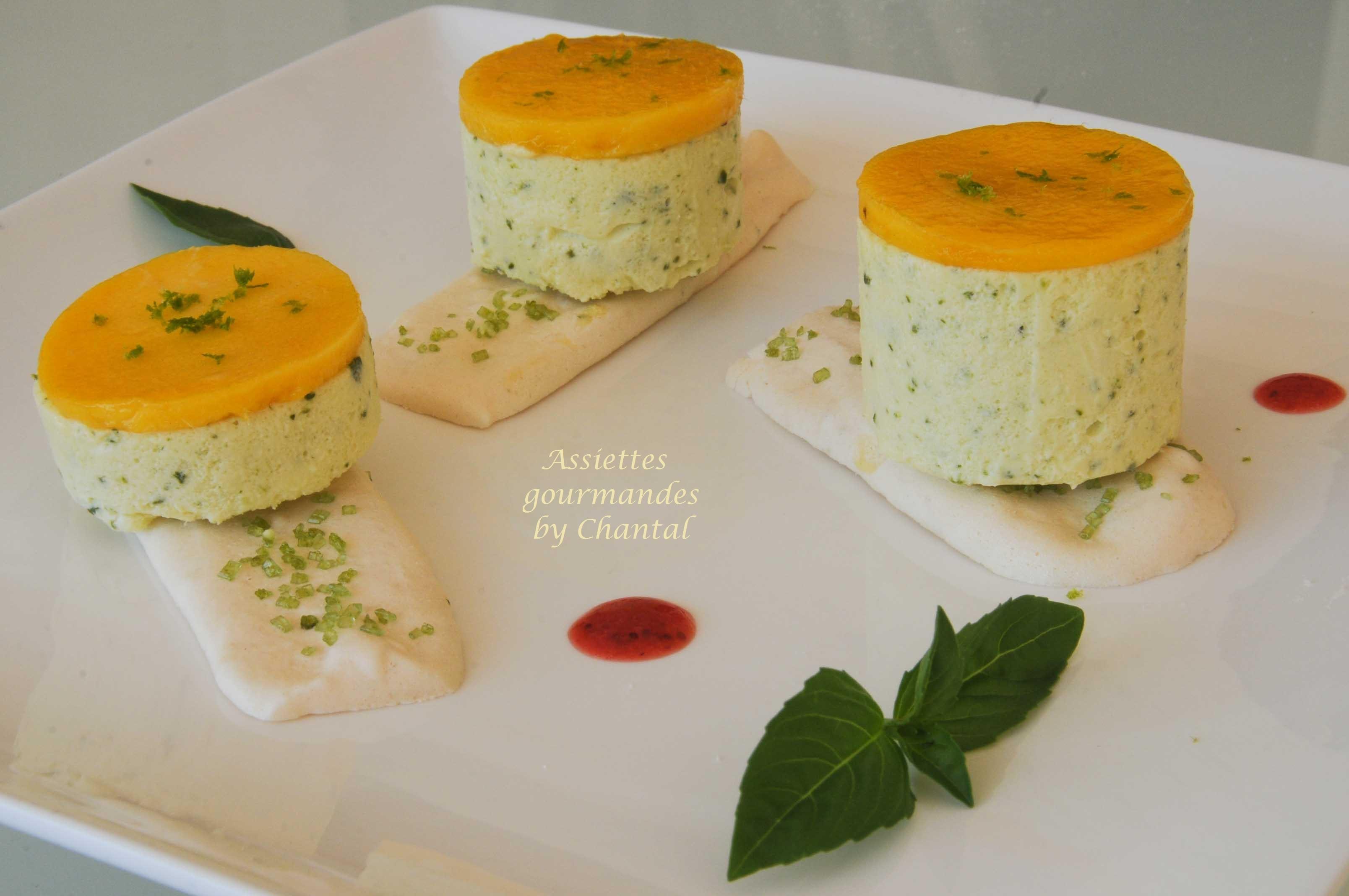 Dessert de Christophe Felder: citron basilic sur un croustillant meringue