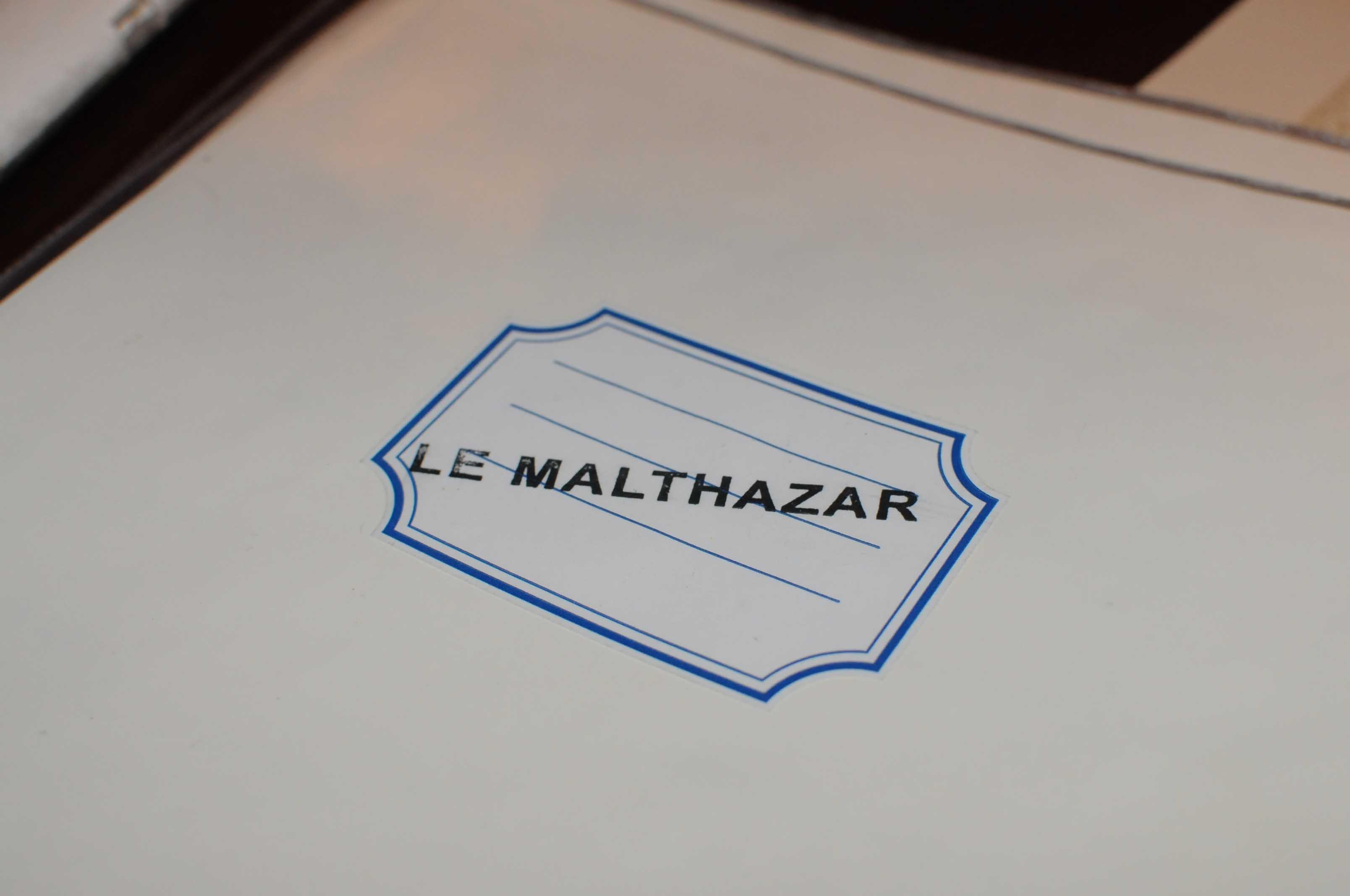 Dîner chez Michel Portos, au Malthazar à Marseille