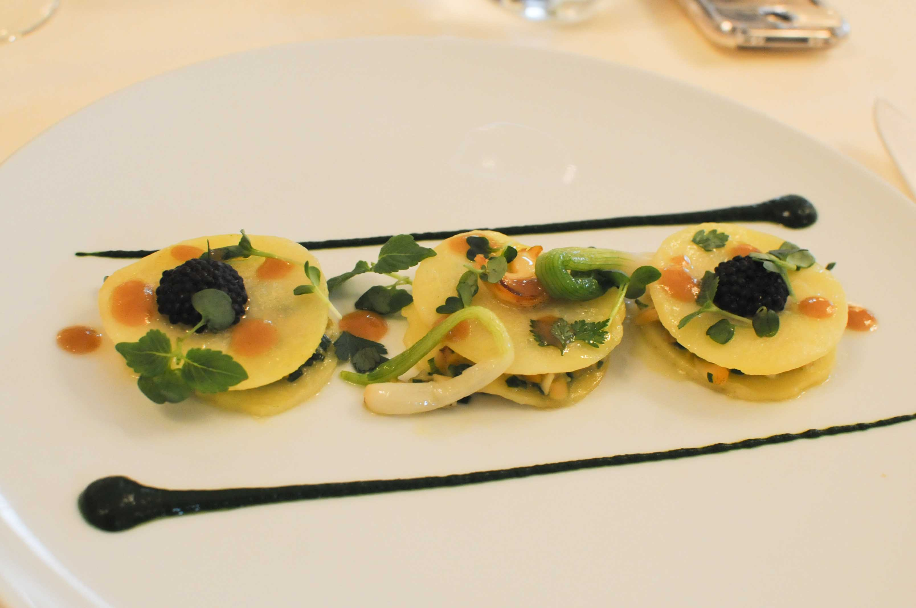 Déjeuner chez Amandine Chaignot, au Raphaël à Paris