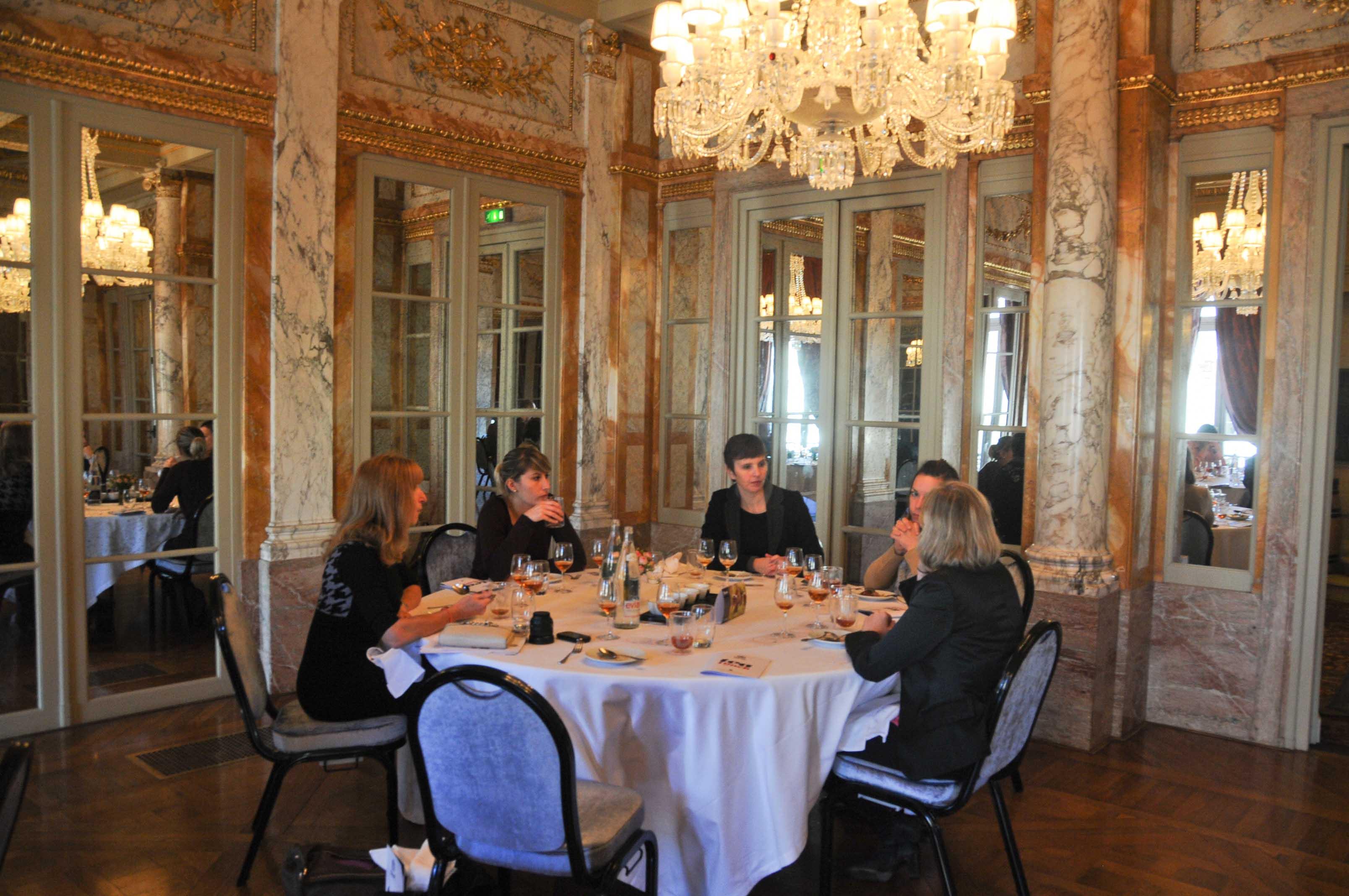 Tea lunch au Pressoir d'Argent, Grand Hotel de Bordeaux, avec les thés Dilmah