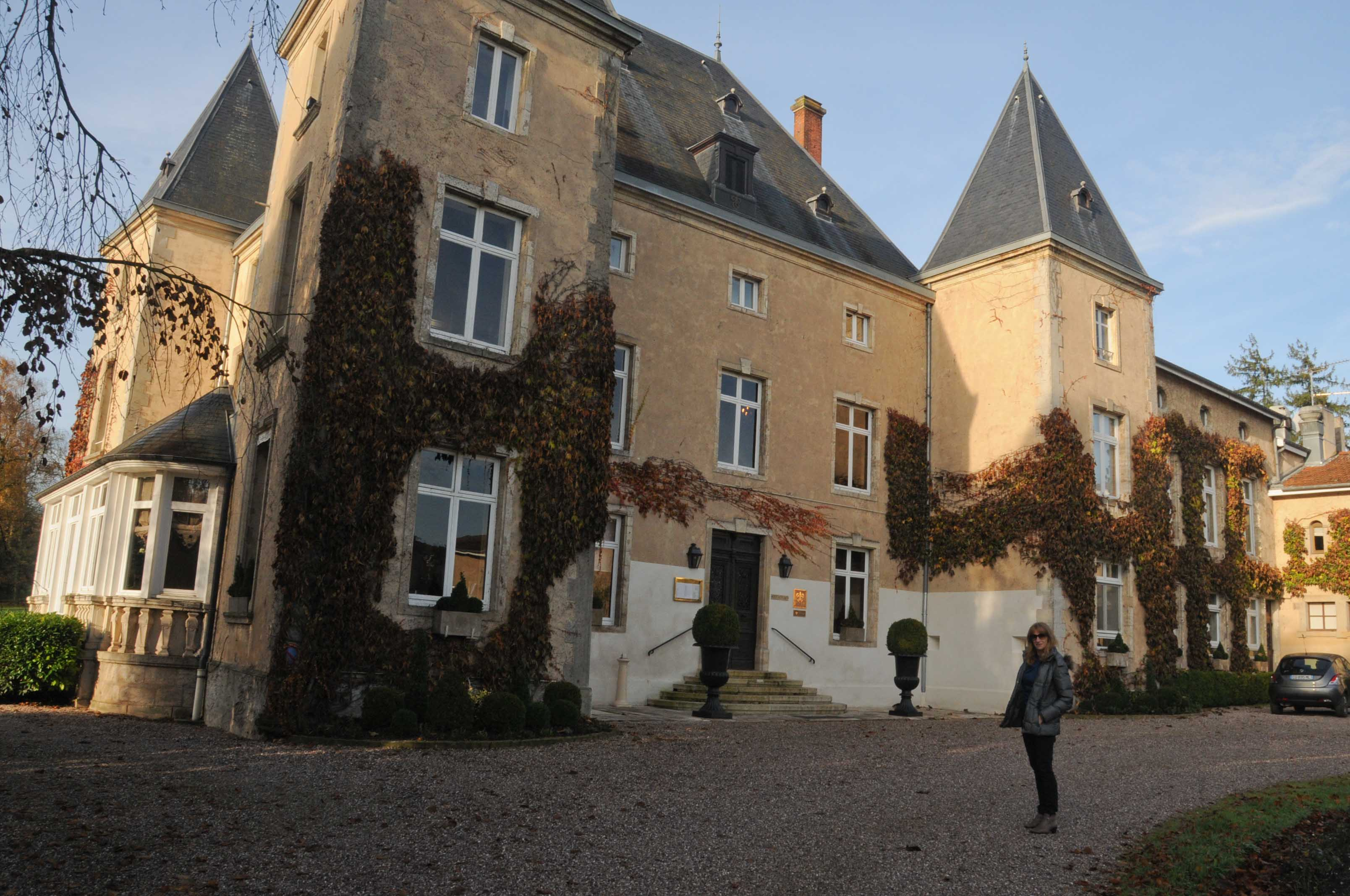 Déjeuner au Château d'Adoménil à Lunéville