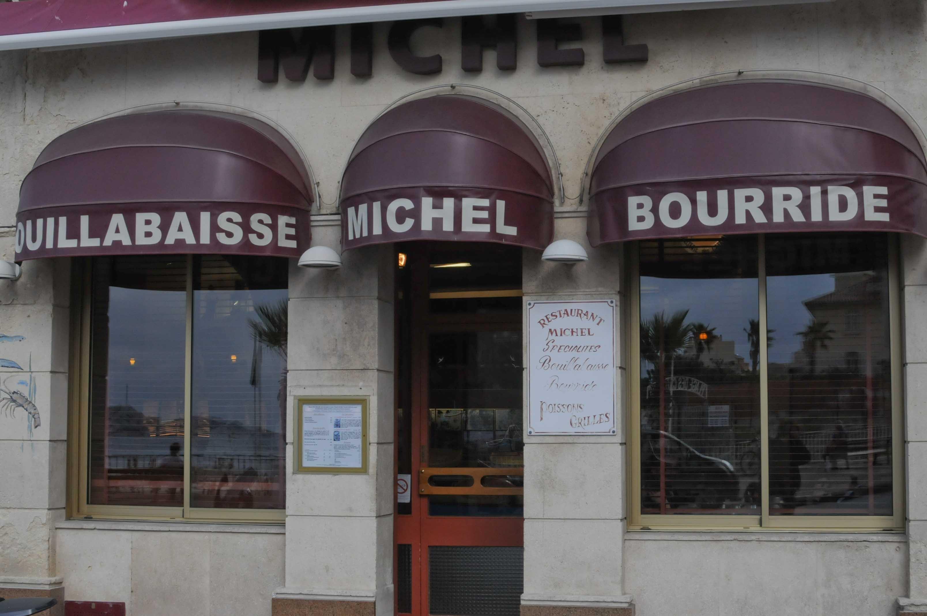 Restaurant Chez Michel à Marseille: la meilleure bouillabaisse!