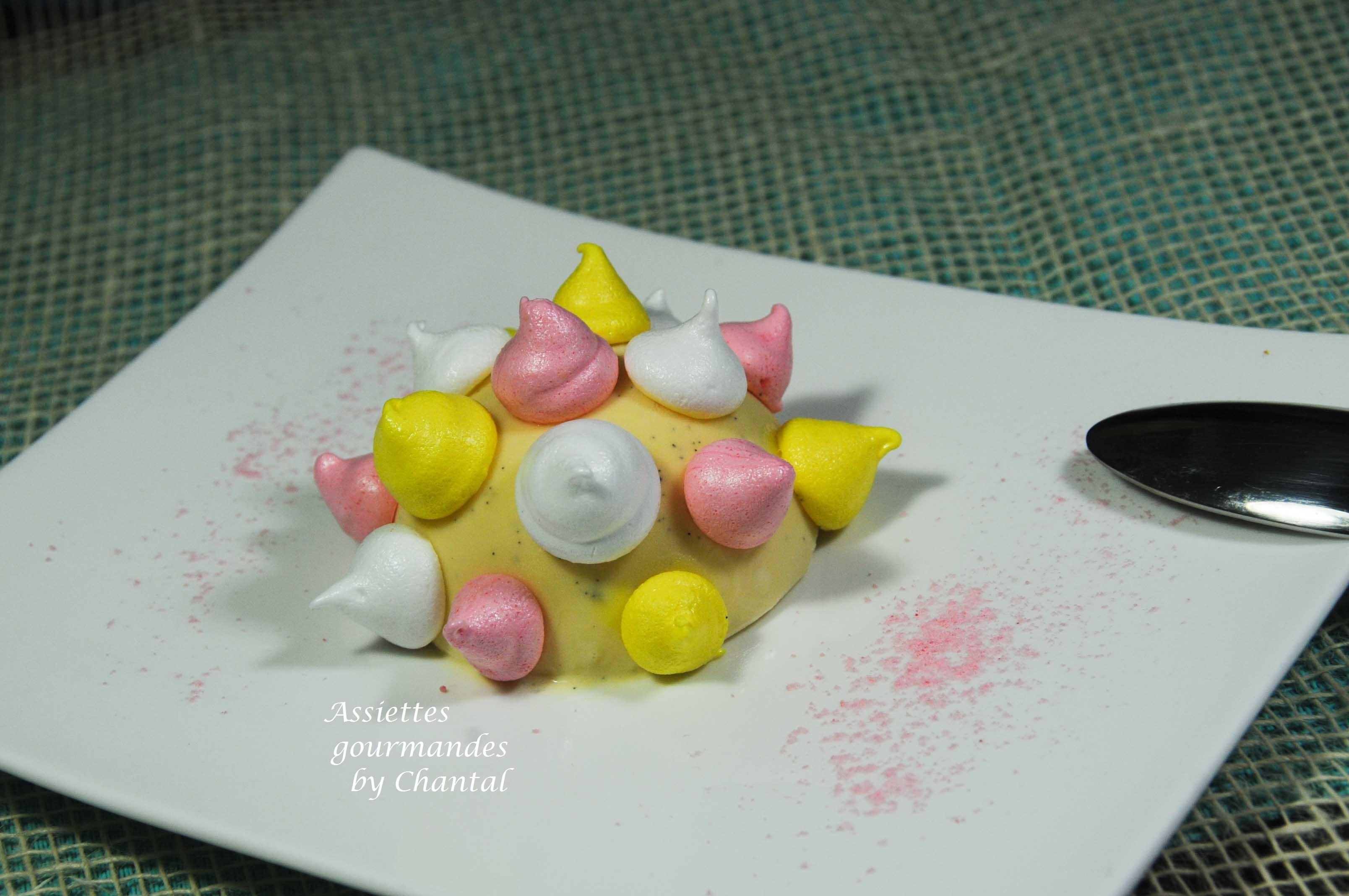 Vacherin glacé, inspiré par Christophe Michalak