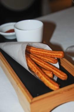churros et sauce romanesco