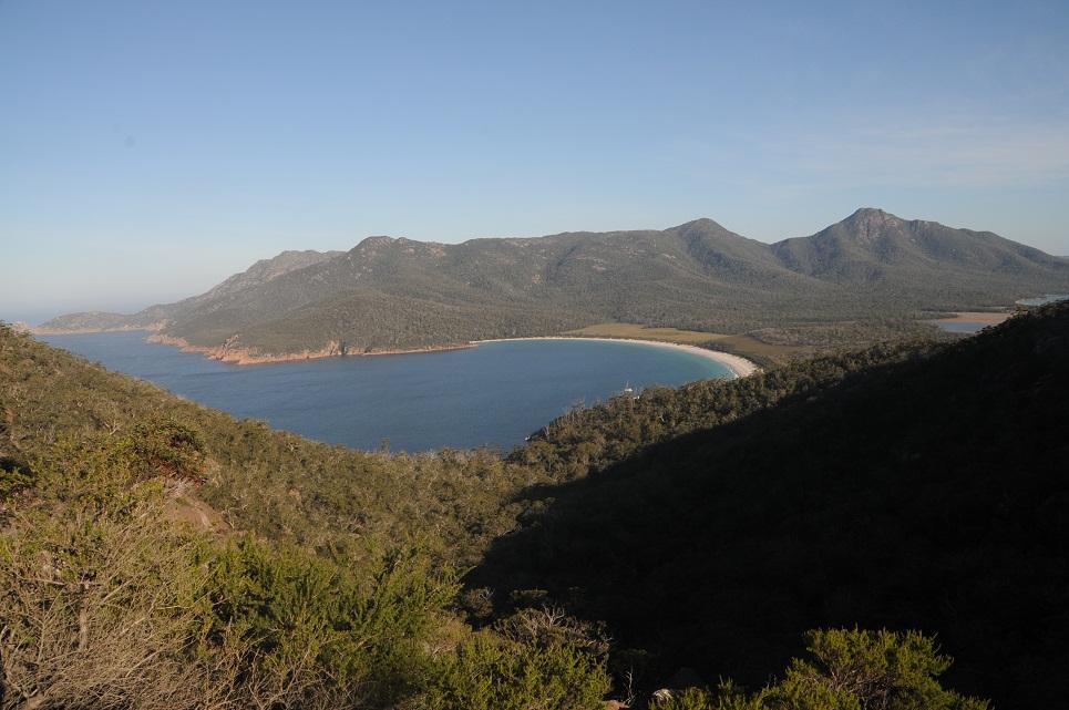 La Tasmanie...