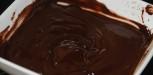 faire fondre du chocolat