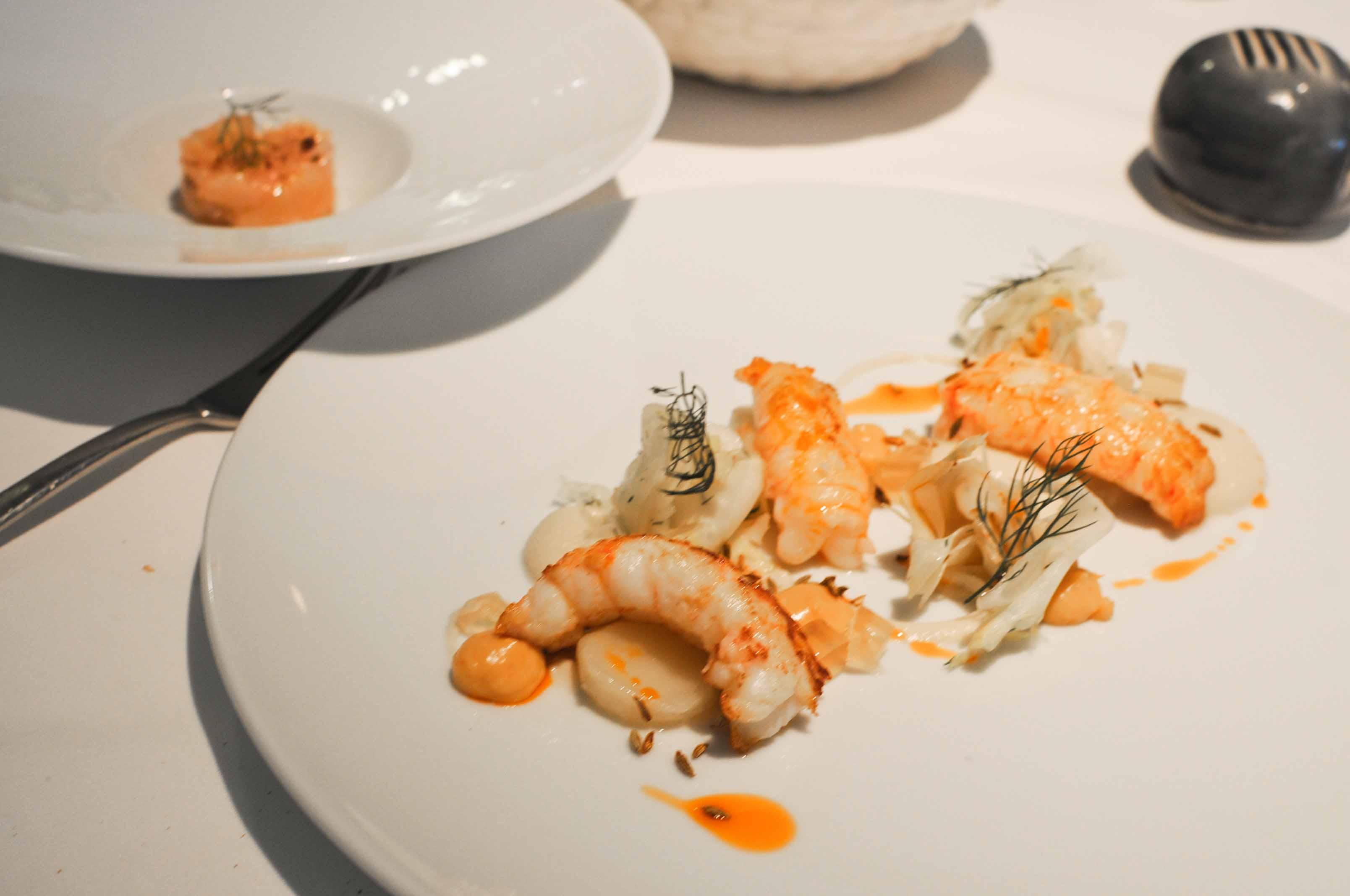 Déjeuner à l'Impertinent à Biarritz, nouvel étoilé 2013