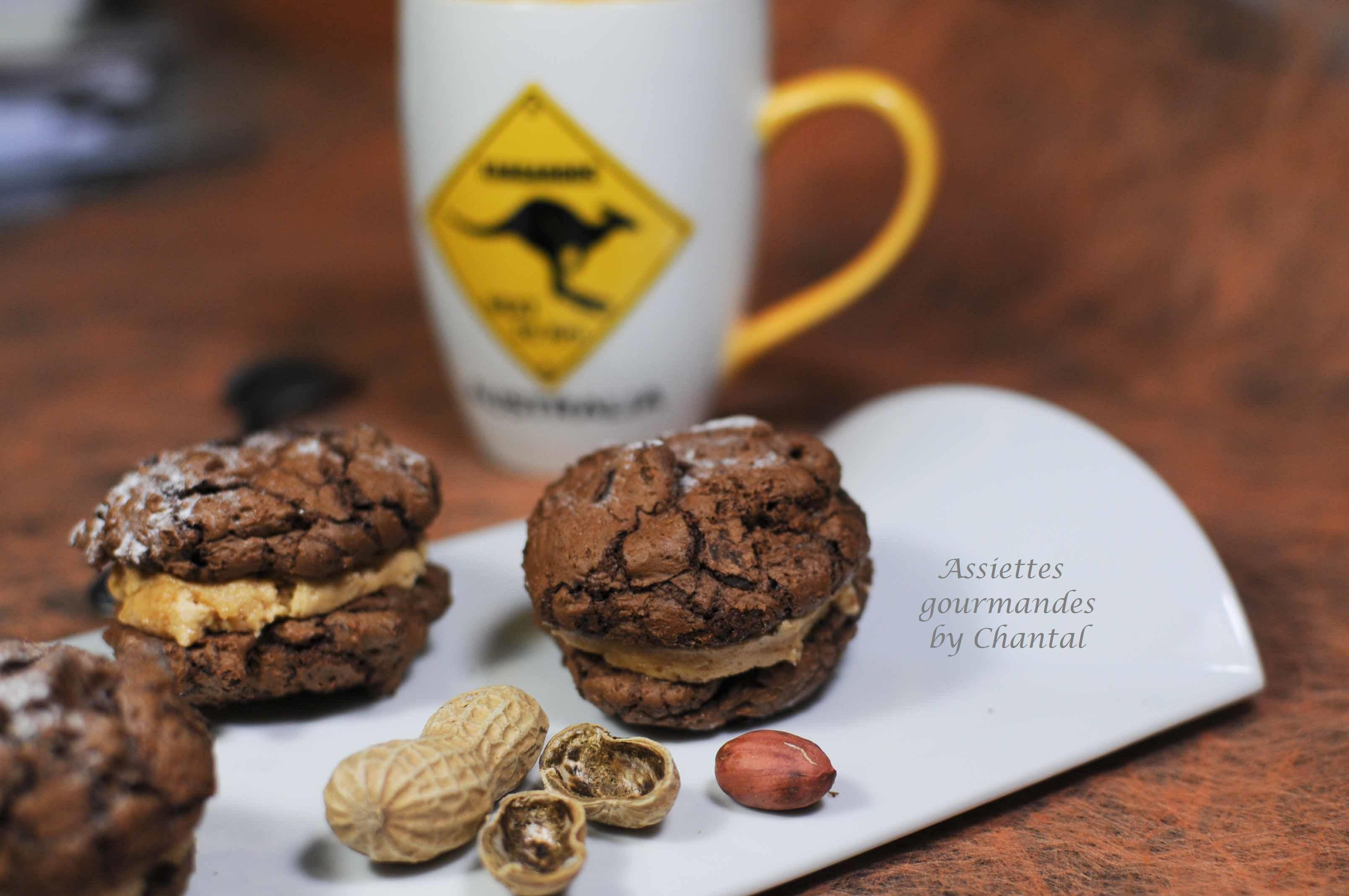 Cookies Brownie aux cacahuètes - Recette de Donna Hay